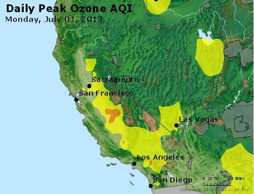 Peak Ozone (8-hour) - http://files.airnowtech.org/airnow/2013/20130701/peak_o3_ca_nv.jpg