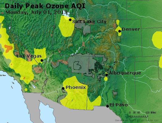 Peak Ozone (8-hour) - http://files.airnowtech.org/airnow/2013/20130701/peak_o3_co_ut_az_nm.jpg