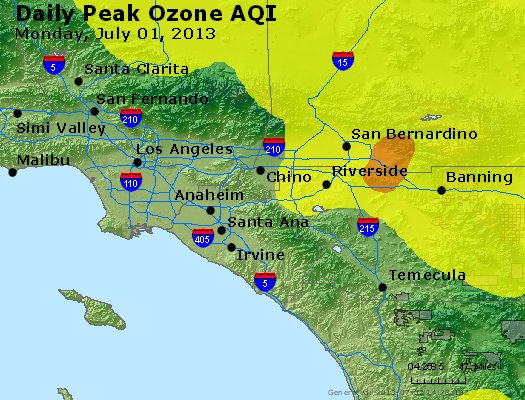 Peak Ozone (8-hour) - http://files.airnowtech.org/airnow/2013/20130701/peak_o3_losangeles_ca.jpg