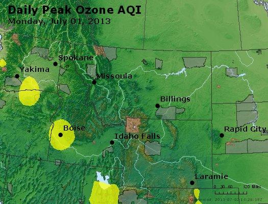 Peak Ozone (8-hour) - http://files.airnowtech.org/airnow/2013/20130701/peak_o3_mt_id_wy.jpg
