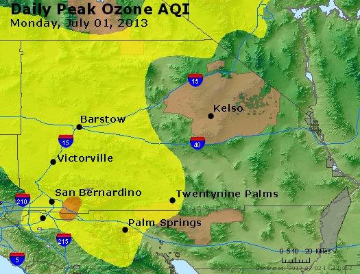Peak Ozone (8-hour) - http://files.airnowtech.org/airnow/2013/20130701/peak_o3_sanbernardino_ca.jpg