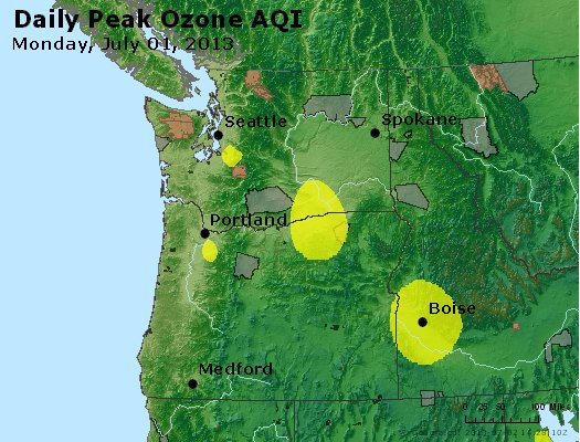 Peak Ozone (8-hour) - http://files.airnowtech.org/airnow/2013/20130701/peak_o3_wa_or.jpg
