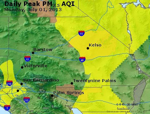 Peak Particles PM<sub>2.5</sub> (24-hour) - http://files.airnowtech.org/airnow/2013/20130701/peak_pm25_sanbernardino_ca.jpg