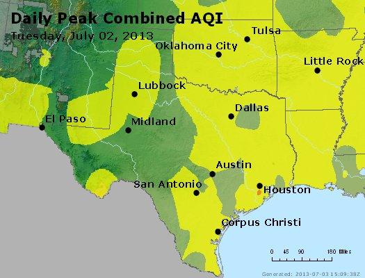 Peak AQI - http://files.airnowtech.org/airnow/2013/20130702/peak_aqi_tx_ok.jpg
