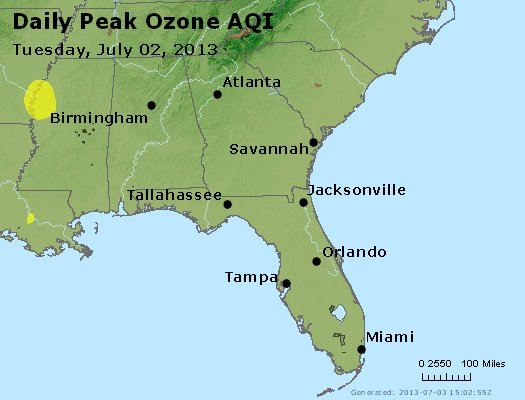Peak Ozone (8-hour) - http://files.airnowtech.org/airnow/2013/20130702/peak_o3_al_ga_fl.jpg