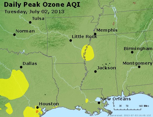 Peak Ozone (8-hour) - http://files.airnowtech.org/airnow/2013/20130702/peak_o3_ar_la_ms.jpg