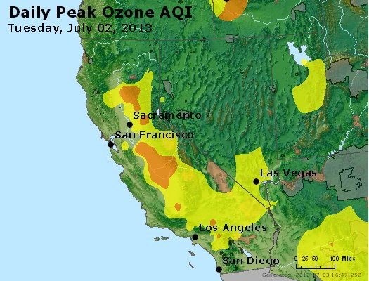 Peak Ozone (8-hour) - http://files.airnowtech.org/airnow/2013/20130702/peak_o3_ca_nv.jpg