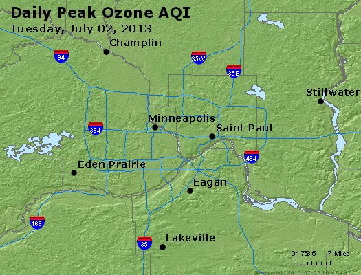 Peak Ozone (8-hour) - http://files.airnowtech.org/airnow/2013/20130702/peak_o3_minneapolis_mn.jpg