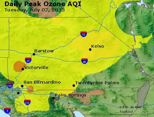 Peak Ozone (8-hour) - http://files.airnowtech.org/airnow/2013/20130702/peak_o3_sanbernardino_ca.jpg