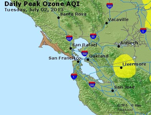 Peak Ozone (8-hour) - http://files.airnowtech.org/airnow/2013/20130702/peak_o3_sanfrancisco_ca.jpg