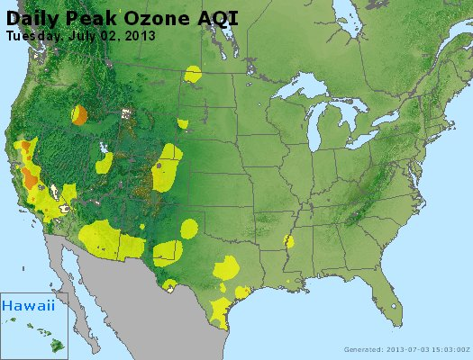 Peak Ozone (8-hour) - http://files.airnowtech.org/airnow/2013/20130702/peak_o3_usa.jpg