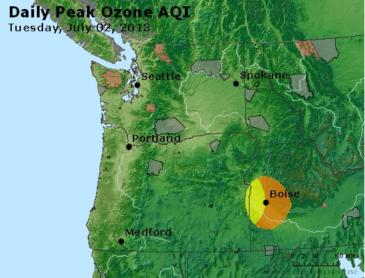 Peak Ozone (8-hour) - http://files.airnowtech.org/airnow/2013/20130702/peak_o3_wa_or.jpg