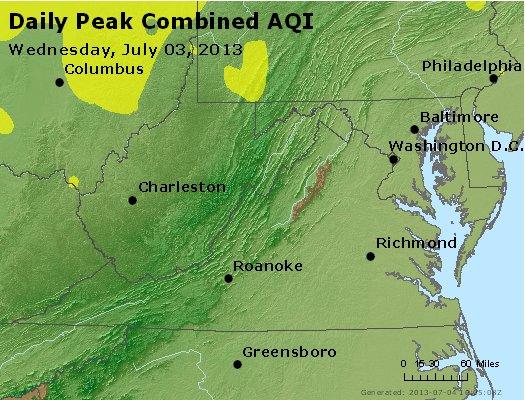 Peak AQI - http://files.airnowtech.org/airnow/2013/20130703/peak_aqi_va_wv_md_de_dc.jpg
