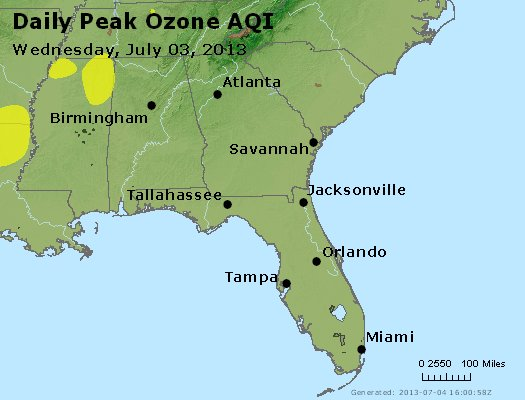 Peak Ozone (8-hour) - http://files.airnowtech.org/airnow/2013/20130703/peak_o3_al_ga_fl.jpg