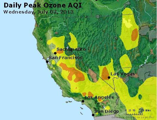 Peak Ozone (8-hour) - http://files.airnowtech.org/airnow/2013/20130703/peak_o3_ca_nv.jpg