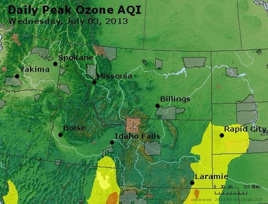 Peak Ozone (8-hour) - http://files.airnowtech.org/airnow/2013/20130703/peak_o3_mt_id_wy.jpg