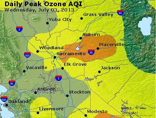 Peak Ozone (8-hour) - http://files.airnowtech.org/airnow/2013/20130703/peak_o3_sacramento_ca.jpg