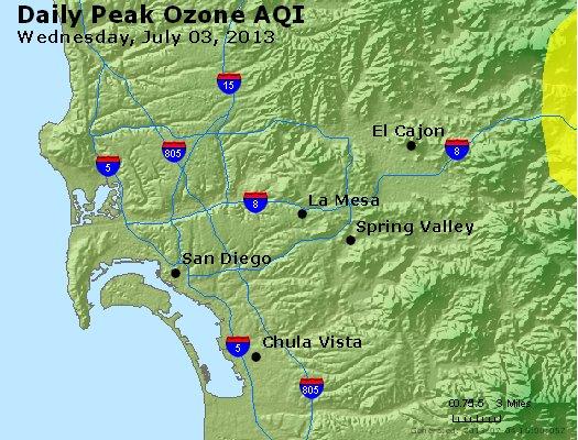 Peak Ozone (8-hour) - http://files.airnowtech.org/airnow/2013/20130703/peak_o3_sandiego_ca.jpg