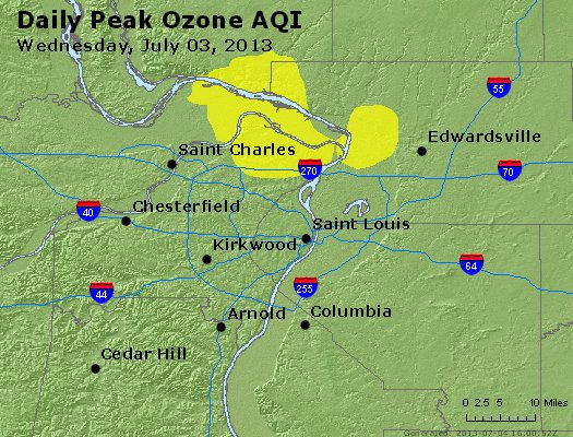 Peak Ozone (8-hour) - http://files.airnowtech.org/airnow/2013/20130703/peak_o3_stlouis_mo.jpg