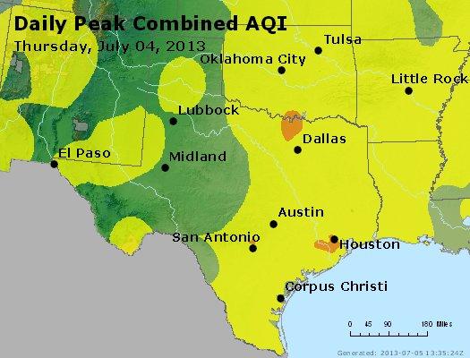 Peak AQI - http://files.airnowtech.org/airnow/2013/20130704/peak_aqi_tx_ok.jpg