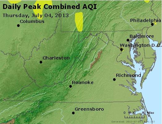 Peak AQI - http://files.airnowtech.org/airnow/2013/20130704/peak_aqi_va_wv_md_de_dc.jpg