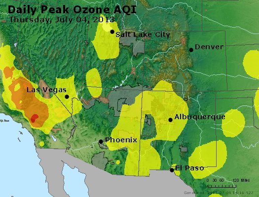 Peak Ozone (8-hour) - http://files.airnowtech.org/airnow/2013/20130704/peak_o3_co_ut_az_nm.jpg
