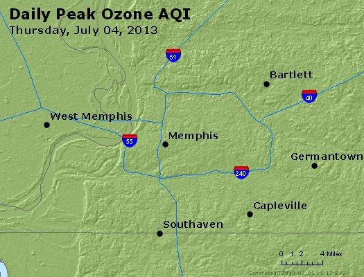Peak Ozone (8-hour) - http://files.airnowtech.org/airnow/2013/20130704/peak_o3_memphis_tn.jpg