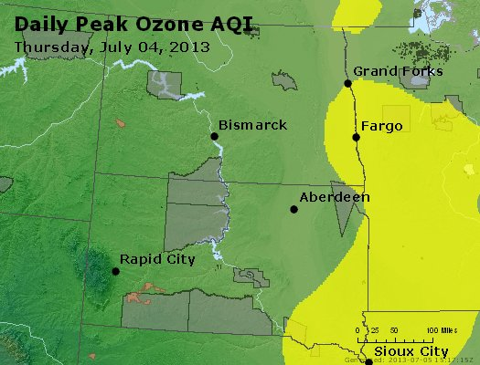 Peak Ozone (8-hour) - http://files.airnowtech.org/airnow/2013/20130704/peak_o3_nd_sd.jpg