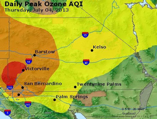 Peak Ozone (8-hour) - http://files.airnowtech.org/airnow/2013/20130704/peak_o3_sanbernardino_ca.jpg