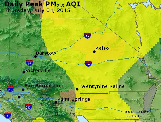 Peak Particles PM<sub>2.5</sub> (24-hour) - http://files.airnowtech.org/airnow/2013/20130704/peak_pm25_sanbernardino_ca.jpg