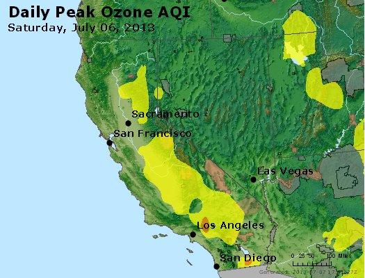 Peak Ozone (8-hour) - http://files.airnowtech.org/airnow/2013/20130706/peak_o3_ca_nv.jpg