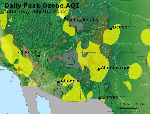 Peak Ozone (8-hour) - http://files.airnowtech.org/airnow/2013/20130706/peak_o3_co_ut_az_nm.jpg