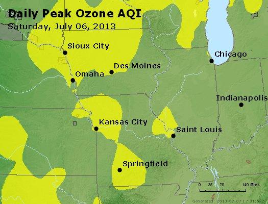 Peak Ozone (8-hour) - http://files.airnowtech.org/airnow/2013/20130706/peak_o3_ia_il_mo.jpg