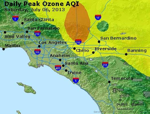 Peak Ozone (8-hour) - http://files.airnowtech.org/airnow/2013/20130706/peak_o3_losangeles_ca.jpg