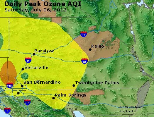 Peak Ozone (8-hour) - http://files.airnowtech.org/airnow/2013/20130706/peak_o3_sanbernardino_ca.jpg