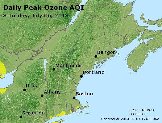 Peak Ozone (8-hour) - http://files.airnowtech.org/airnow/2013/20130706/peak_o3_vt_nh_ma_ct_ri_me.jpg