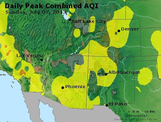 Peak AQI - http://files.airnowtech.org/airnow/2013/20130707/peak_aqi_co_ut_az_nm.jpg
