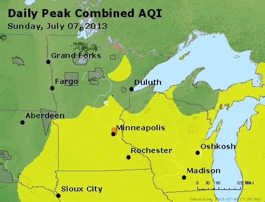 Peak AQI - http://files.airnowtech.org/airnow/2013/20130707/peak_aqi_mn_wi.jpg
