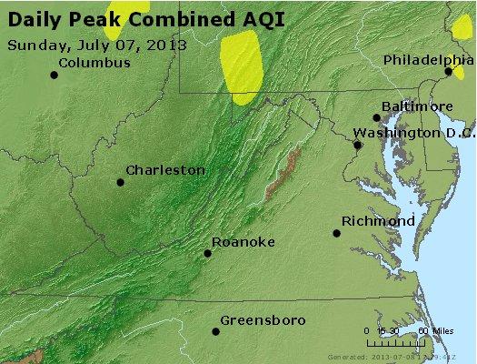 Peak AQI - http://files.airnowtech.org/airnow/2013/20130707/peak_aqi_va_wv_md_de_dc.jpg