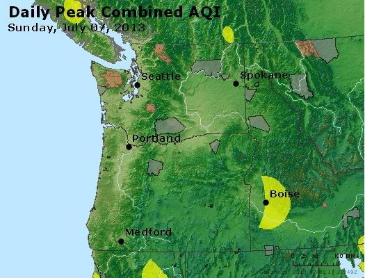 Peak AQI - http://files.airnowtech.org/airnow/2013/20130707/peak_aqi_wa_or.jpg