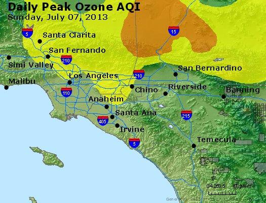 Peak Ozone (8-hour) - http://files.airnowtech.org/airnow/2013/20130707/peak_o3_losangeles_ca.jpg
