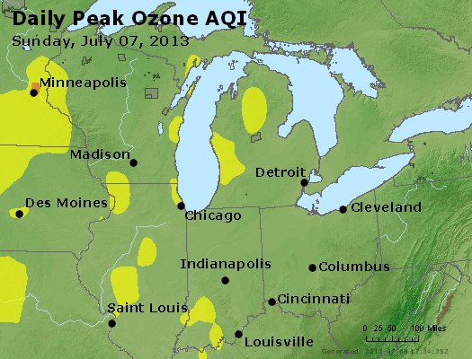 Peak Ozone (8-hour) - http://files.airnowtech.org/airnow/2013/20130707/peak_o3_mi_in_oh.jpg