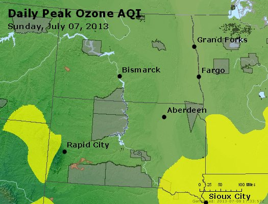Peak Ozone (8-hour) - http://files.airnowtech.org/airnow/2013/20130707/peak_o3_nd_sd.jpg