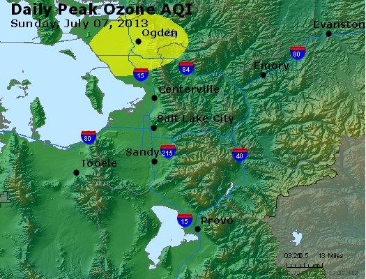 Peak Ozone (8-hour) - http://files.airnowtech.org/airnow/2013/20130707/peak_o3_saltlakecity_ut.jpg