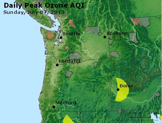 Peak Ozone (8-hour) - http://files.airnowtech.org/airnow/2013/20130707/peak_o3_wa_or.jpg