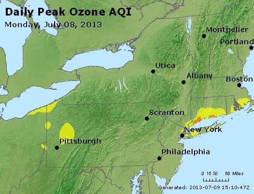 Peak Ozone (8-hour) - http://files.airnowtech.org/airnow/2013/20130708/peak_o3_ny_pa_nj.jpg