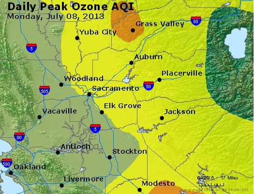 Peak Ozone (8-hour) - http://files.airnowtech.org/airnow/2013/20130708/peak_o3_sacramento_ca.jpg