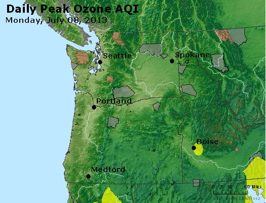 Peak Ozone (8-hour) - http://files.airnowtech.org/airnow/2013/20130708/peak_o3_wa_or.jpg