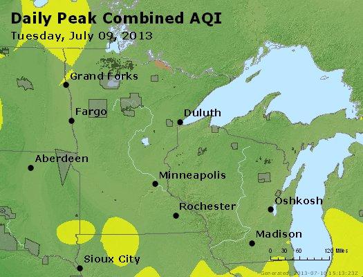 Peak AQI - http://files.airnowtech.org/airnow/2013/20130709/peak_aqi_mn_wi.jpg