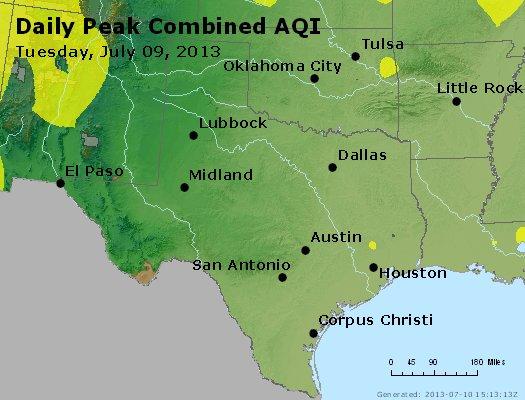 Peak AQI - http://files.airnowtech.org/airnow/2013/20130709/peak_aqi_tx_ok.jpg